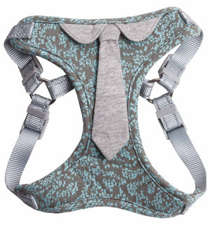 Pet Life ® 'Fidomite' Mesh Reversible And Breathable Adjustable Dog Harness W/ Designer Neck Tie