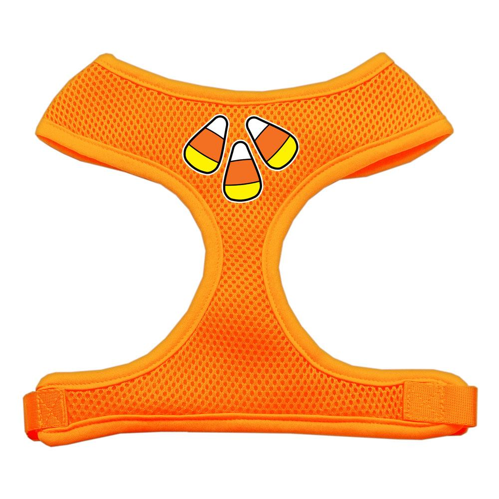 Candy Corn Design Soft Mesh Harnesses Orange Extra Large