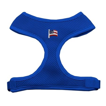 American Flag Chipper Blue Harness