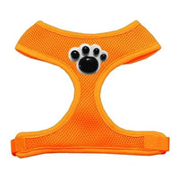 Black Paws Chipper Orange Harness Large