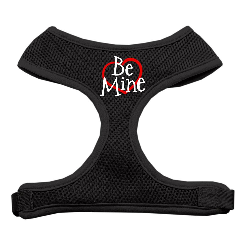 Be Mine Soft Mesh Harnesses Black