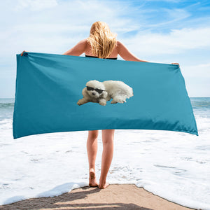 Top beach towel