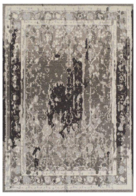 Bilbais Grey Egyptian Overdyed Floor Rug