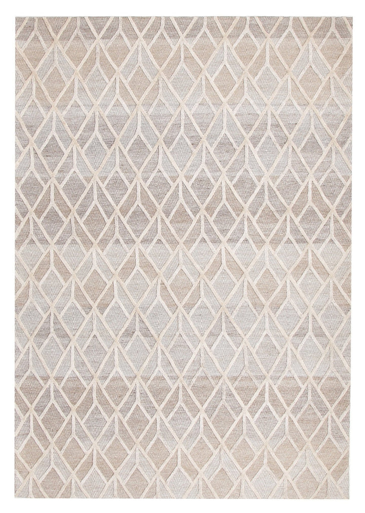 Savannah Geometric Textured Hand Loomed Rug