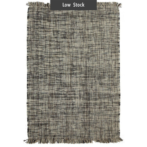Quito Marbled Neutrals Woven Wool Rug (Low Stock)