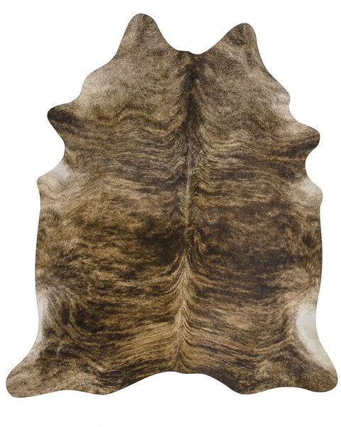 Junin Brown Brindle Cow Hide Rug