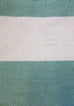 Mykonos Aqua Green & White Stripe Indoor Outdoor Rug