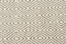 Imatra Natural Grey Diamond Flatweave Rug
