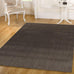 Wamberal Charcoal Grey Natural Fibre Sisal Bouclé Eco Friendly Rug