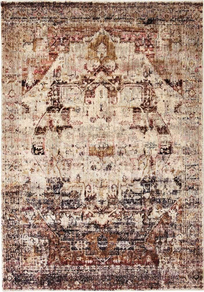 Tomsk Abrash Medallion Transitional Rug