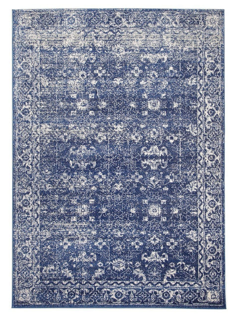 Narvic Navy Blue Transitional Rug