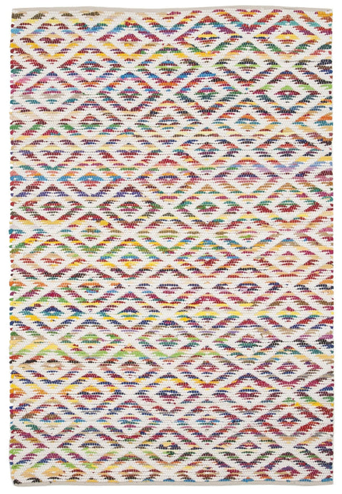 Saskatoon Multi-Colour Hand Loomed Rug