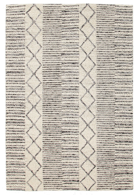 Durisdeer Tribal Braided Wool Rug