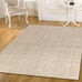 Belongil Light Beige Natural Fibre Sisal Tiger Eye Rug
