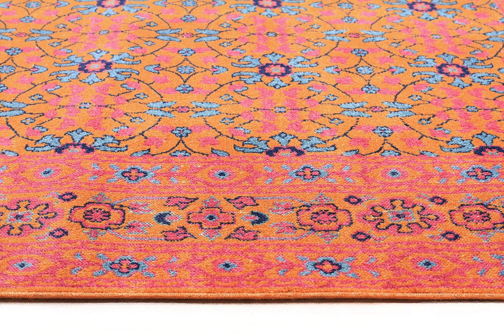 offers taupe of beautiful background pink that palette floral rug sits a green and aztec wonderfully fresh joyful on pin design the ivory colour