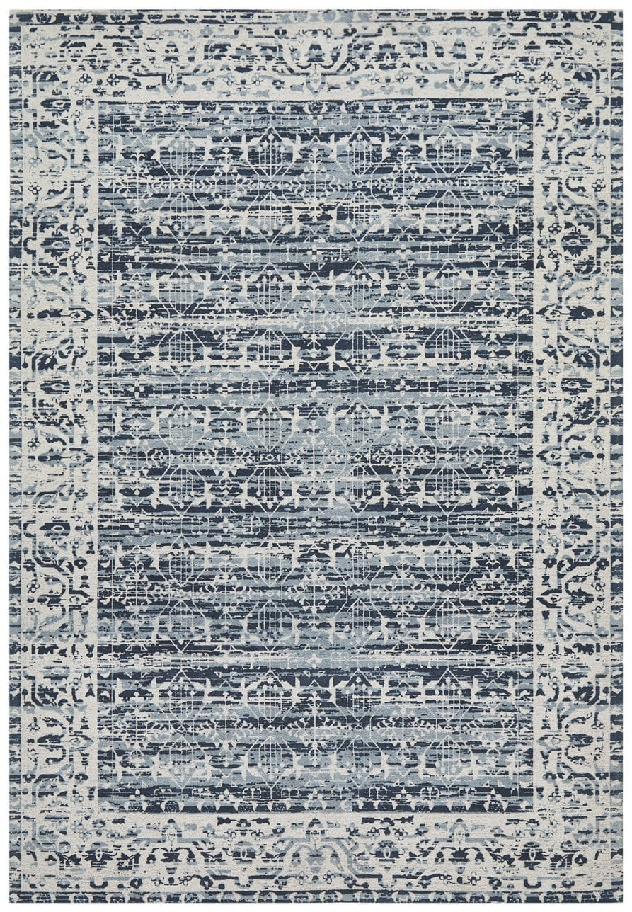 Ahlat Denim Blue Transitional Rug