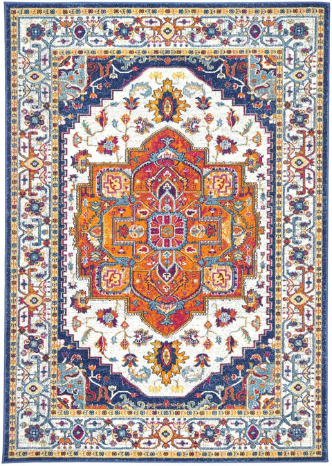 Anapolis Multicolour Distressed Transitional Rug