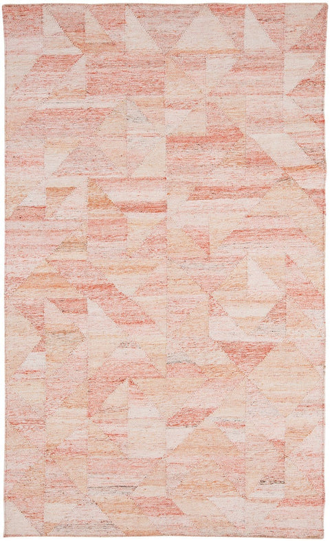 Astrid Coral Geometric Indoor Outdoor Rug (Pre-Order)