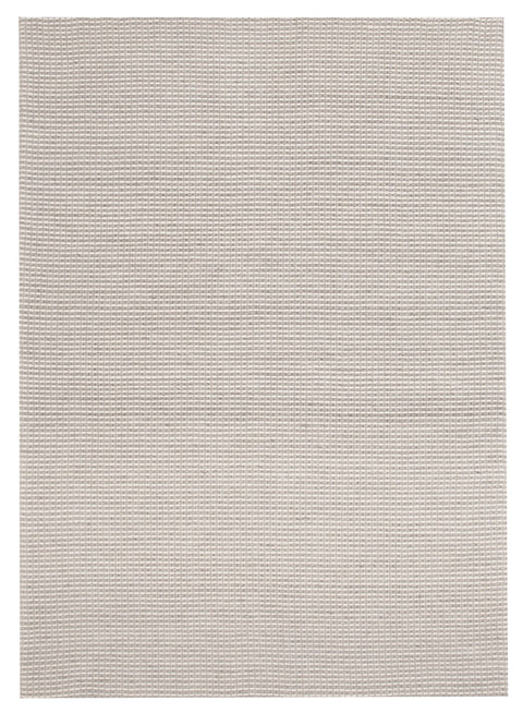 Autun Grey Twisted Wool & Viscose Rug
