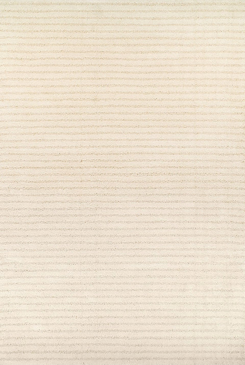 Chelsea Cream Stripe Plush Rug