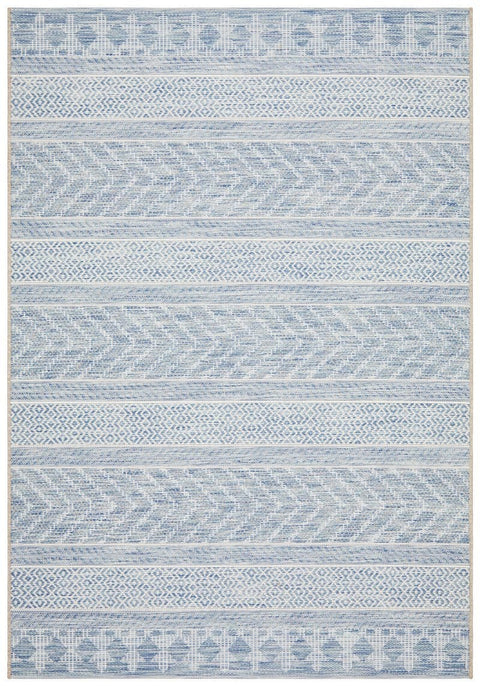 Bayamo Blue Tribal Rug