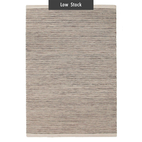 Mandurai Natural Wool Striped Rug (Low Stock)