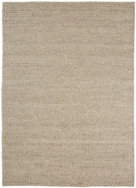 Bianca Natural Tan Braided Wool Rug (Pre-Order)