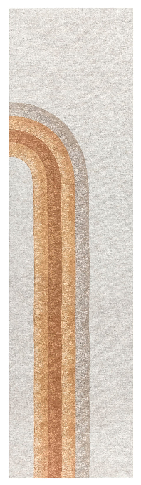 Blake Orange Rainbow Runner Rug
