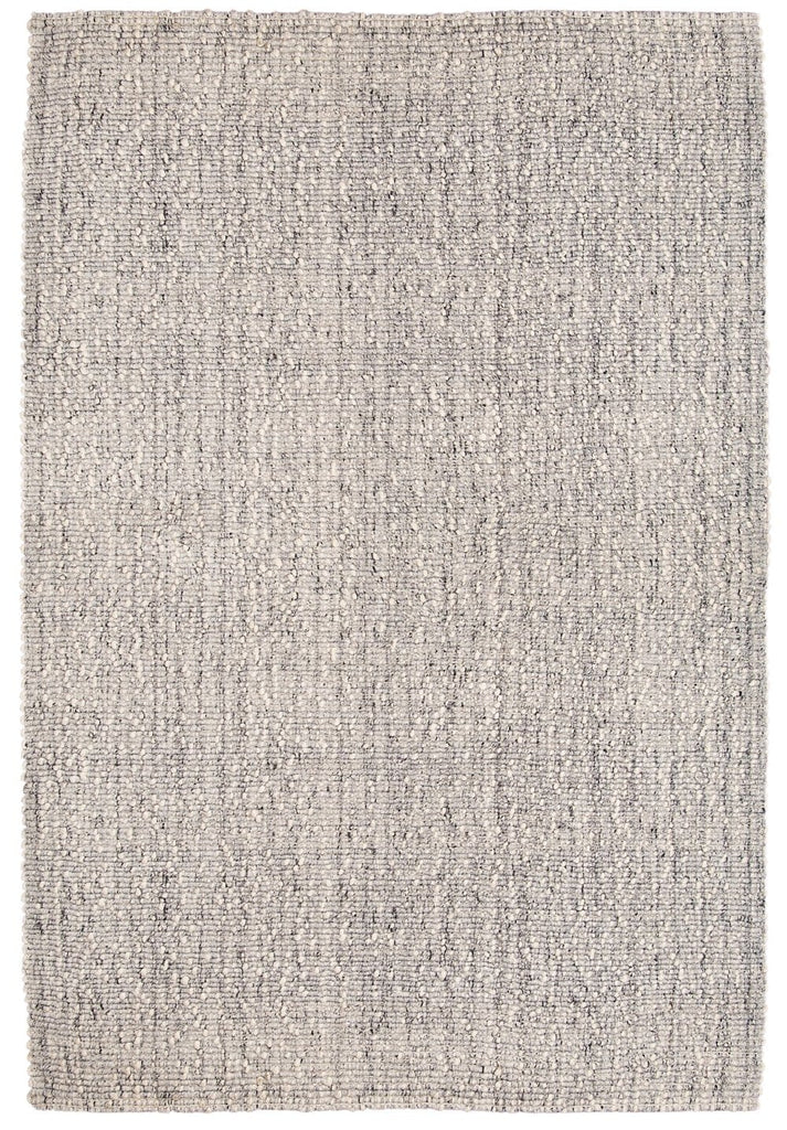 Bree Ivory and Grey Marble Wool Rug