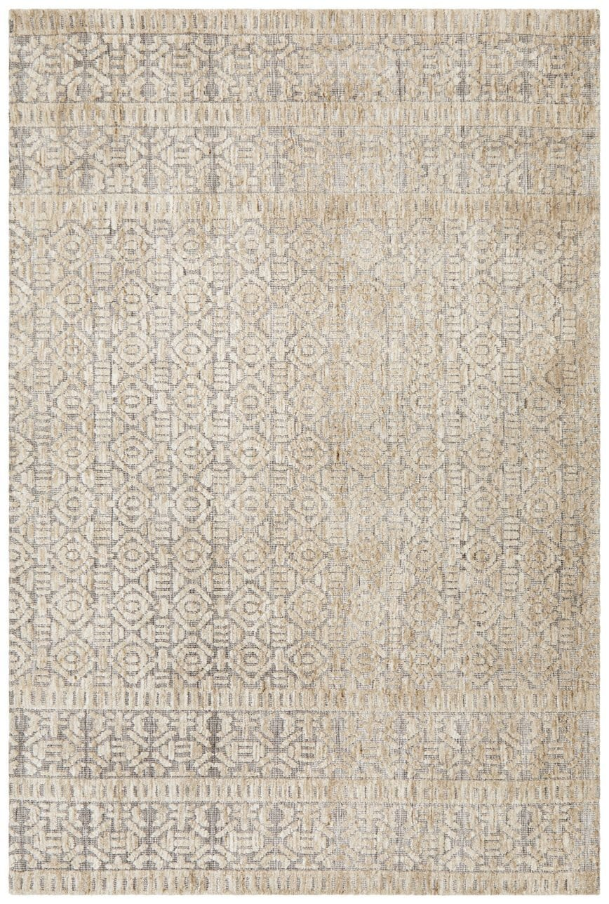Chatra Natural Grey and Beige Transitional Rug