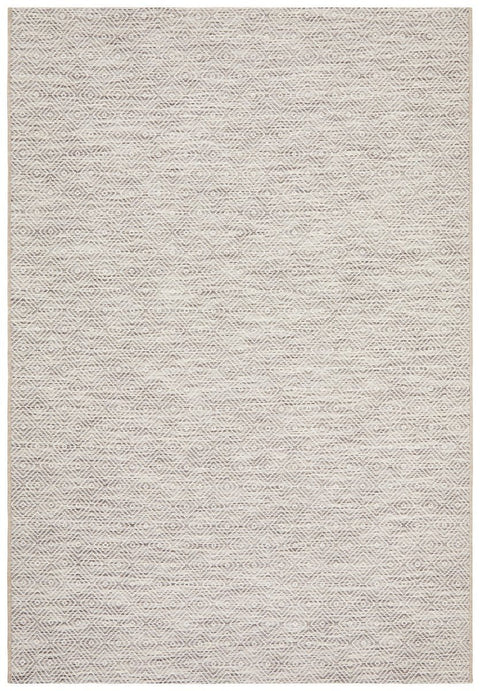 Cordoba Natural Stone Grey Diamond Rug