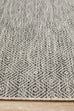 Corozal Charcoal Diamond Rug