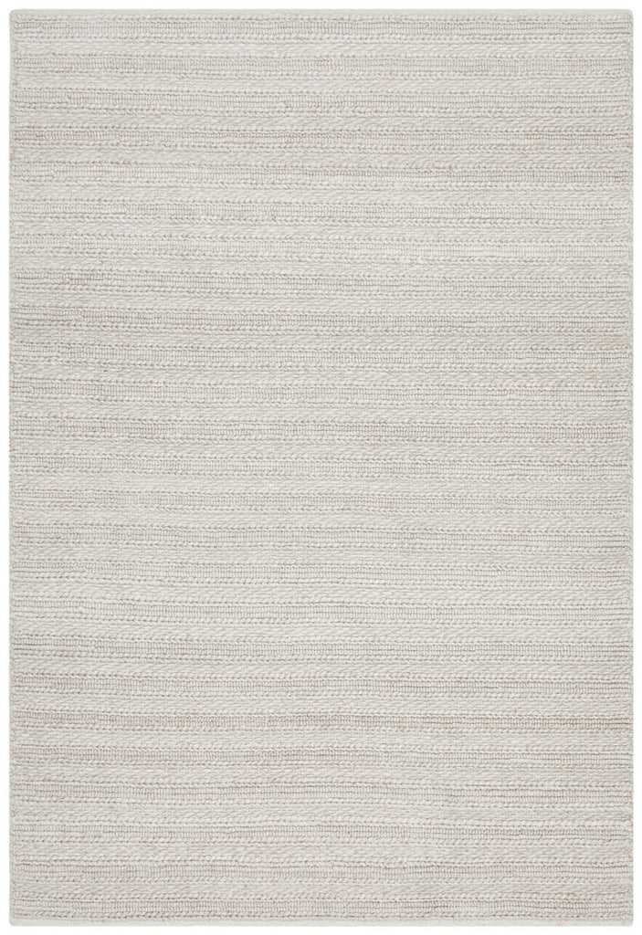 Cortez Brown Beige Looped and Woven Flatweave Rug