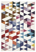 Kassel Multi-Coloured Geometric Flatweave Kilim Rug