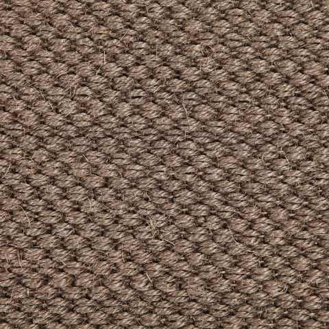 Narooma Grey Brown Sisal Tiger Eye Runner Rug