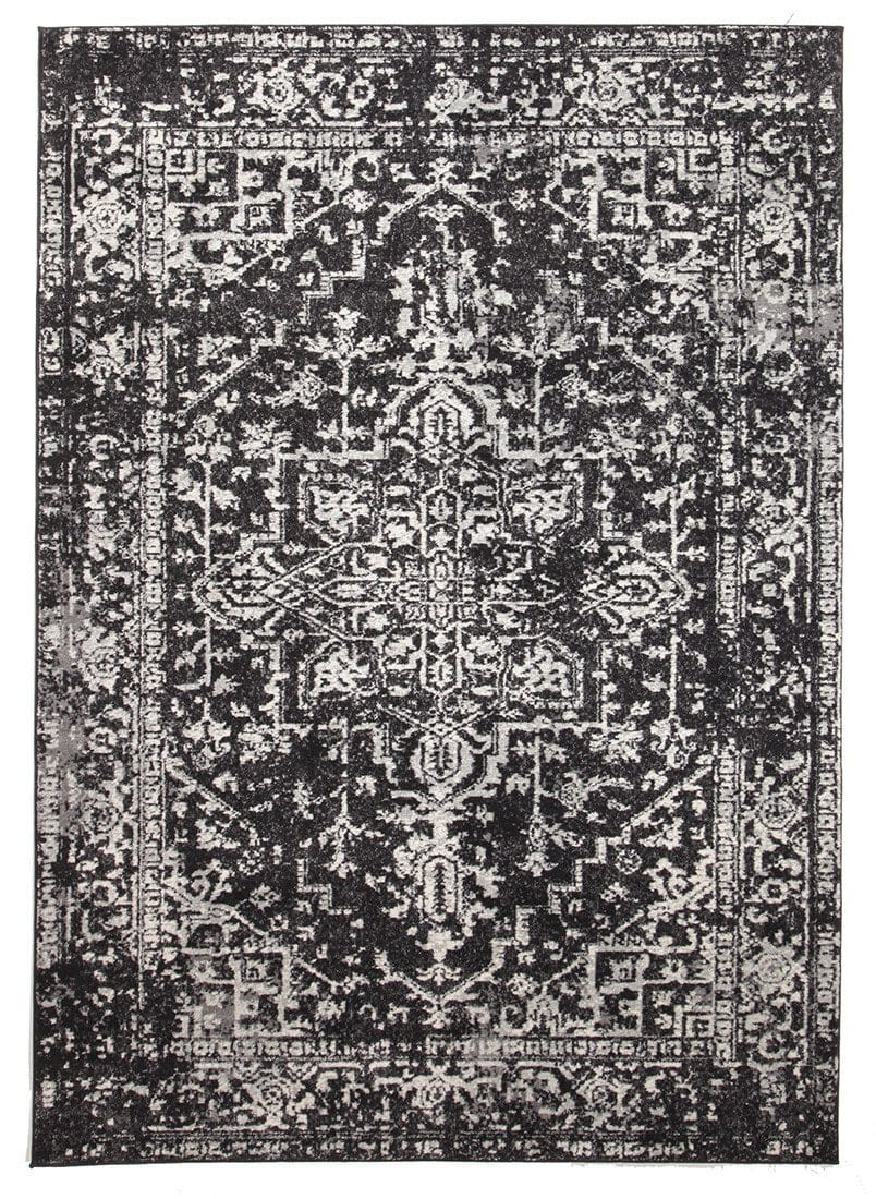 Harstad Charcoal Grey Transitional Rug