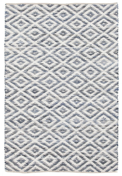 Niagara Denim Diamond Hand Loomed Rug