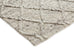 Ella Grey Marble Lattice Wool Rug (Pre-Order)
