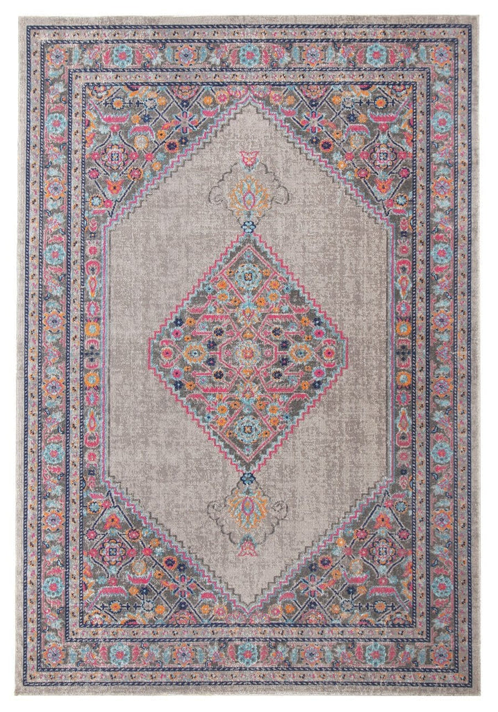 Hamam Persian Style Floral Transitional Rug