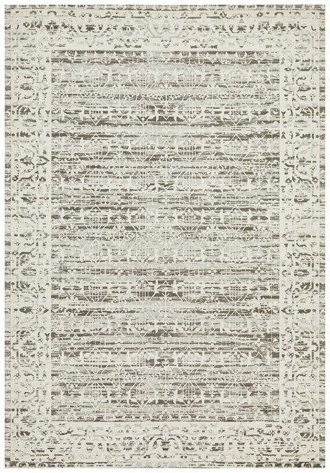 Havsa Silver Grey Transitional Rug