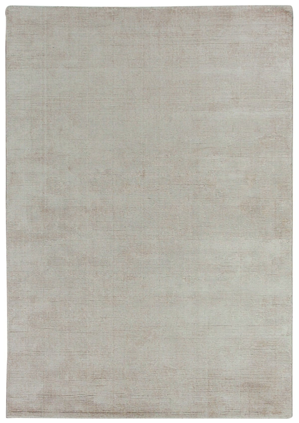 Itahara Beige Distressed Wool Blend Rug