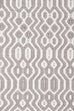 June Grey and Ivory Indoor Outdoor PET Runner Rug
