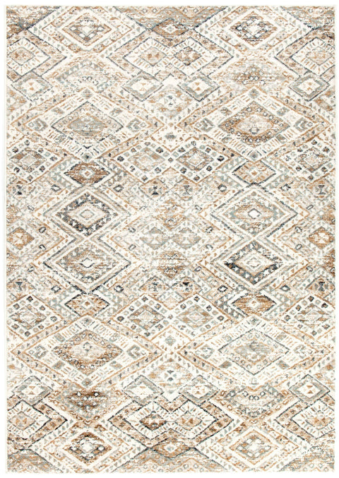 Lima Tribal Diamond Print Transitional Rug