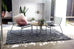 Lulu Grey Diamond Pattern Tufted Rug