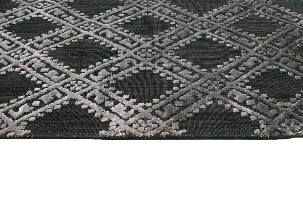 8c81e580c19b4 Madrid Charcoal Wool Blend Transitional Rug