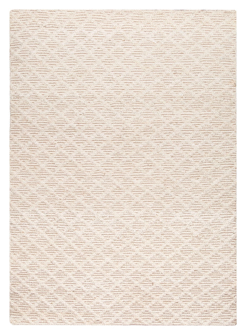 Piper Diamond Bleached Jute Rug