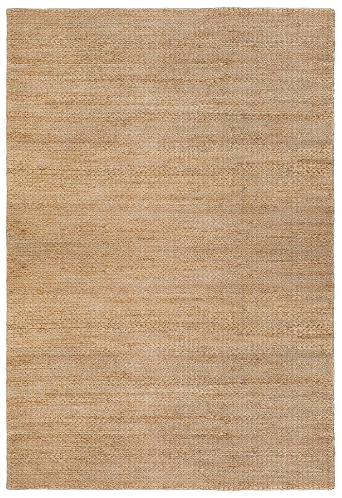 Indigo Natural Tan Braided Jute Rug