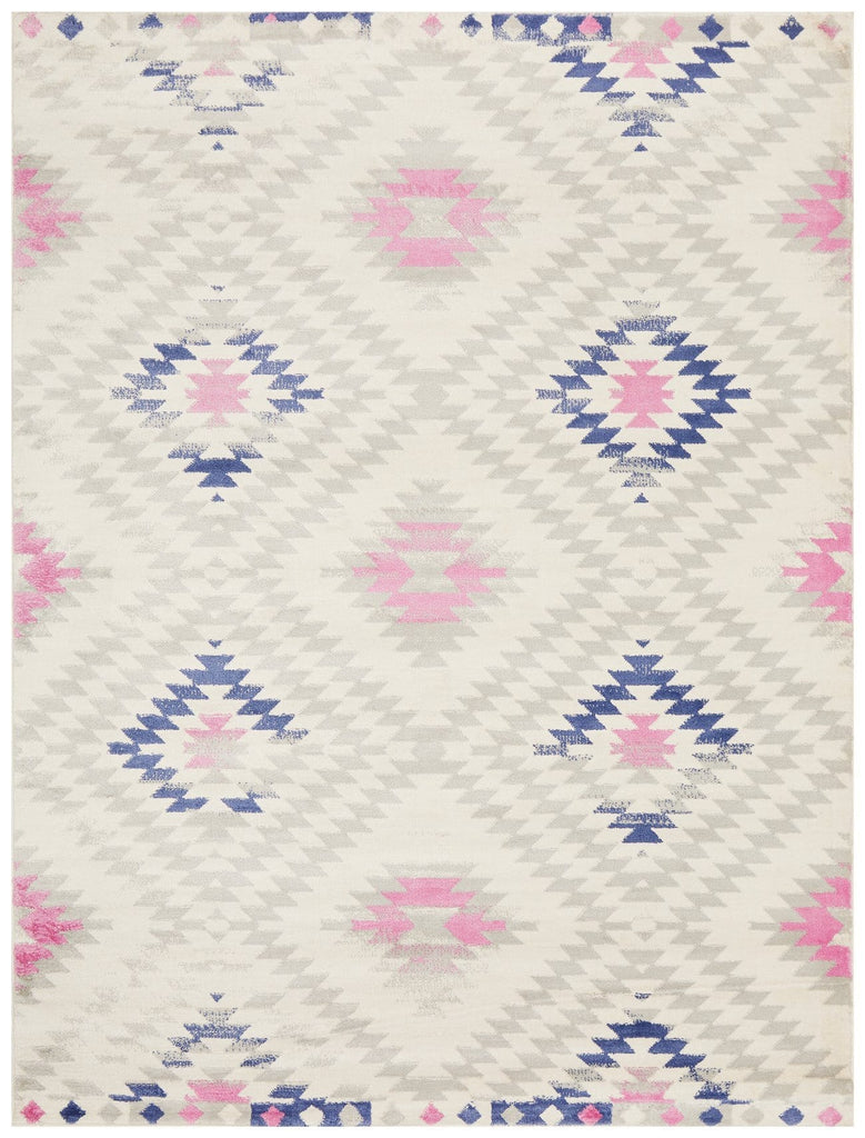 Sarandi Pastel Tribal Diamond Rug