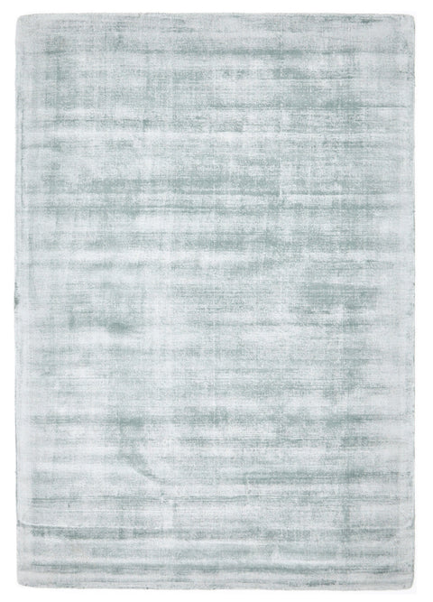 Seward Ice Blue Distressed Viscose Rug