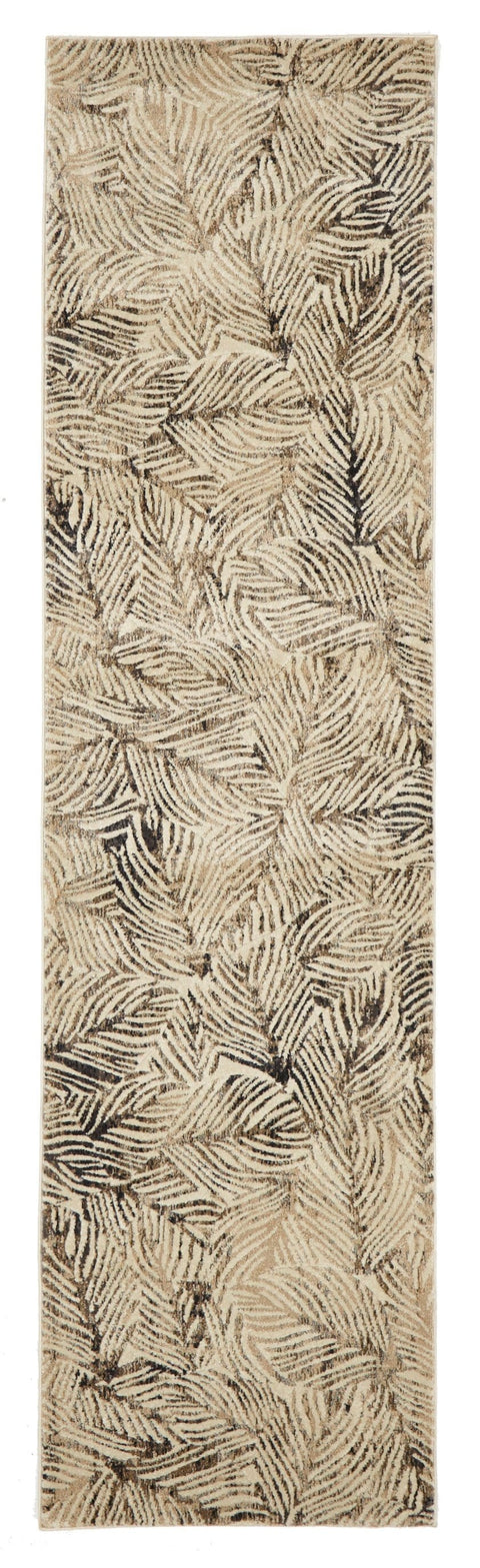 Sola Abstract Print Transitional Runner Rug